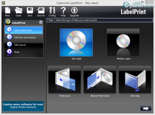CyberLink LabelPrint 2.5.5415