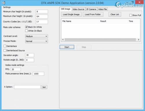 DTK ANPR SDK 2.0.94
