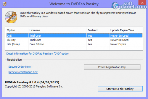 DVDFab Passkey 8.2.0.8