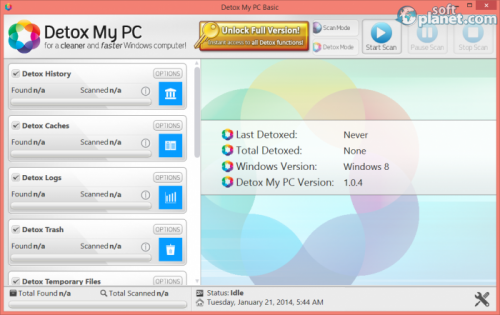 Detox My PC Basic 1.0.4