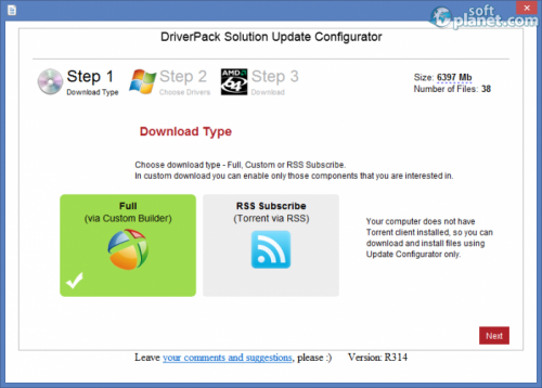 DriverPack Solution 13 Lite R314