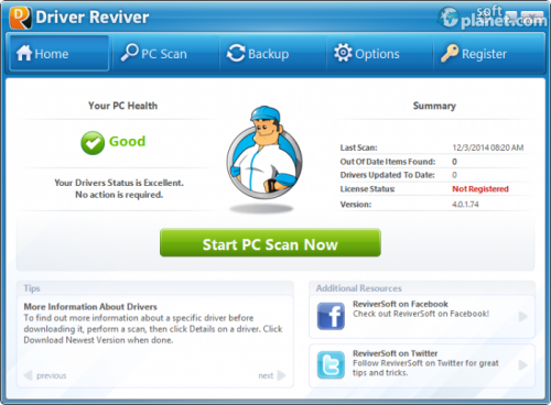 Driver Reviver 5.0.2.24
