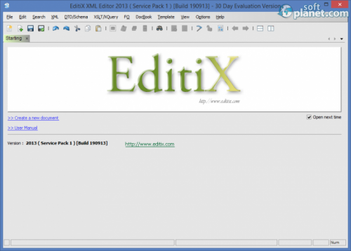 EditiX XML Editor 2013 SP1 build 190913