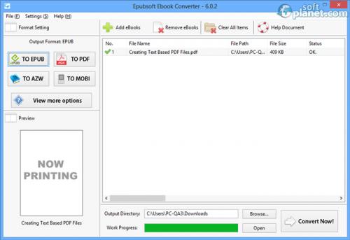 Epubsoft Ebook Converter 6.0.2