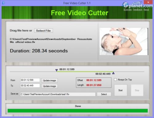Free Video Cutter 1.1