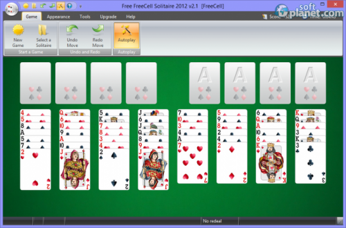 Free FreeCell Solitaire 2012 2.1