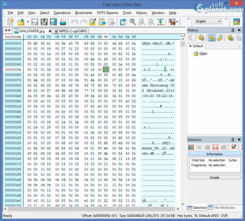 Free Hex Editor Neo 6.11.0.5363