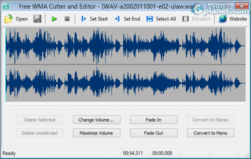 Free WMA Cutter and Editor 2.6