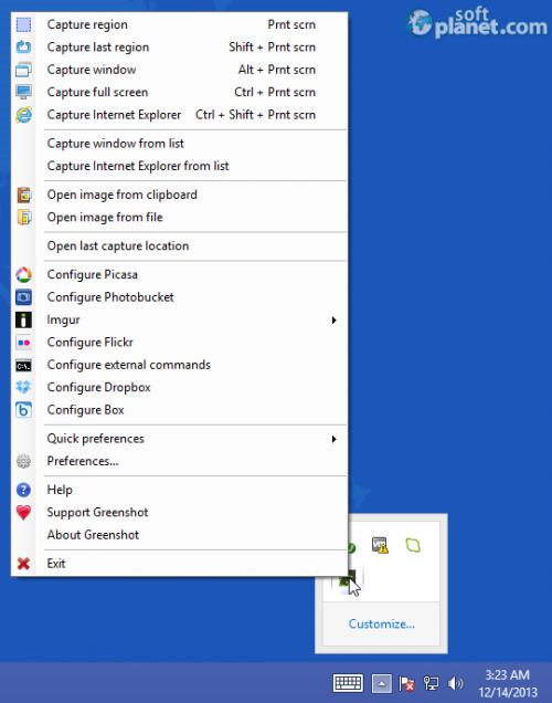 GreenShot free download for Windows | SoftPlanet