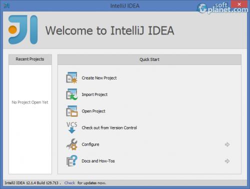 IntelliJ IDEA 12.1.4
