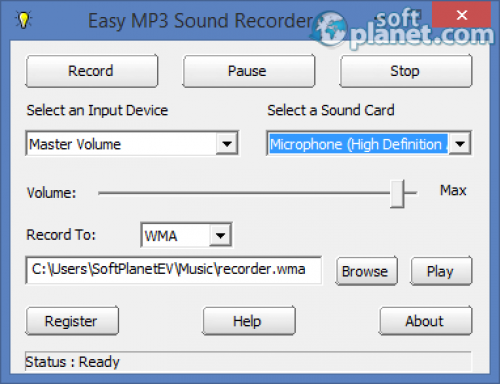 KYDSOFT Easy MP3 Sound Recorder 3.12