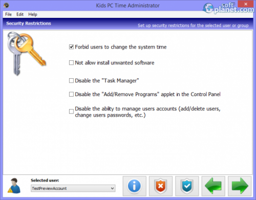 Kids PC Time Administrator 6.1.5.3