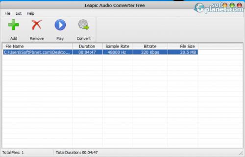 Leapic Audio Converter Free 6.0