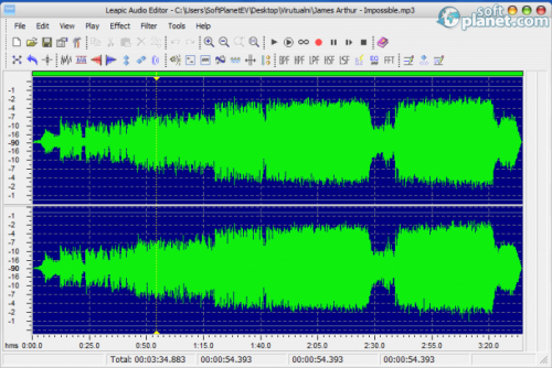 Leapic Audio Editor 3.0