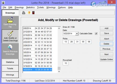 Lotto Pro 2014 8.15