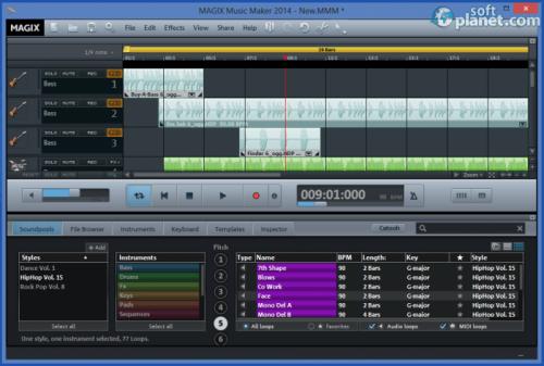 MAGIX Music Maker 2014 20.0.2.35 U