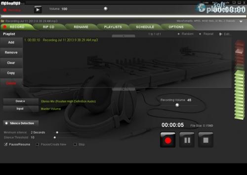 MP3 my MP3 Free Sound Recorder 4.1