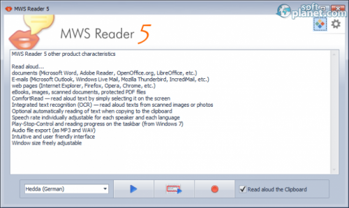 MWS Reader 5.0 Build 330