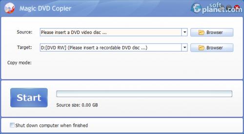 Magic DVD Copier 8.1.0