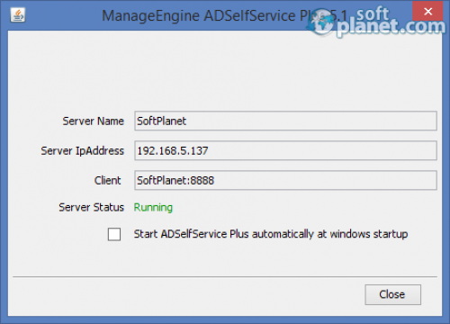 ManageEngine ADSelfService Plus 5.2