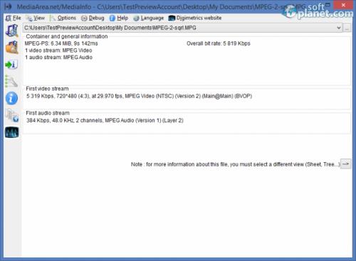 MediaInfo 0.7.64