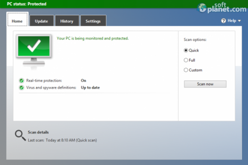 Microsoft Security Essentials 4.7.205.0