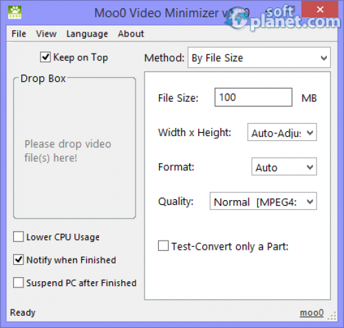Moo0 Video Minimizer 1.20