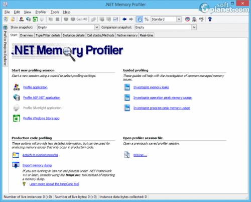 .NET Memory Profiler 4.6.69