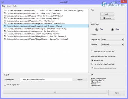 NeatMP3 1.3.0