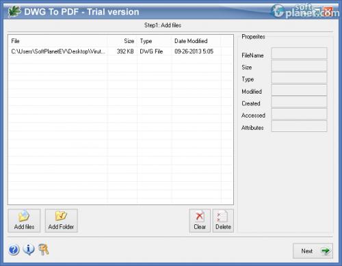 Oakdoc DWG to PDF Converter 3.1