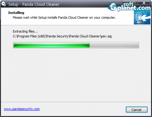 Panda Cloud Cleaner 1.1.5
