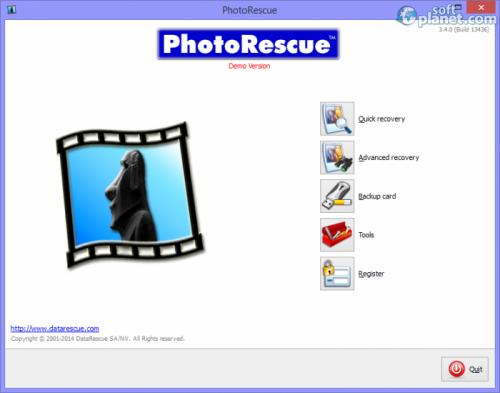 PhotoRescue 3.4.0.13436