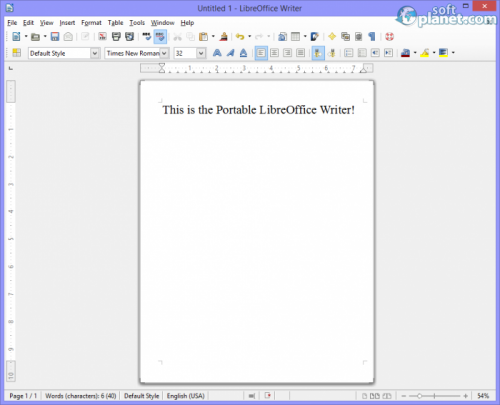Portable LibreOffice 4.3.3