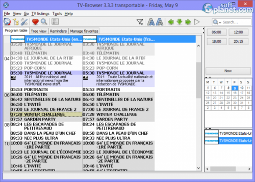 Portable TV-Browser 3.3.3