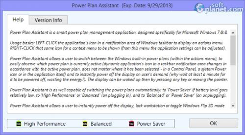 Power Plan Assistant 3.1b