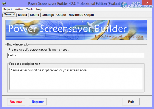 Power Screensaver Builder Professional Edition 4.3.2