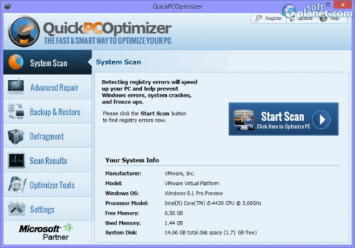 QuickPCOptimizer 3.2.0