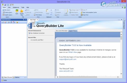 QweryBuilder Lite 7.6.0