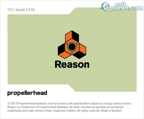 Reason 7.0.1