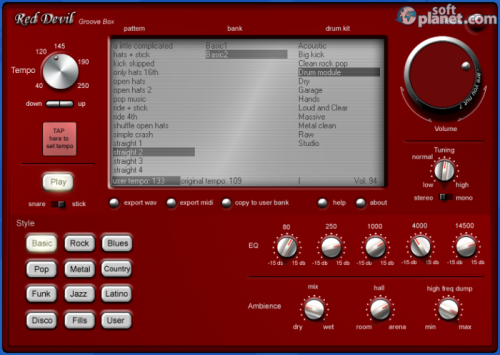 Red Devil Groove Box 1.1