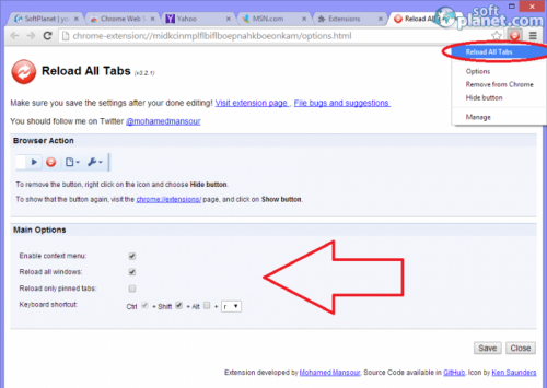 Reload All Tabs 3.2.1