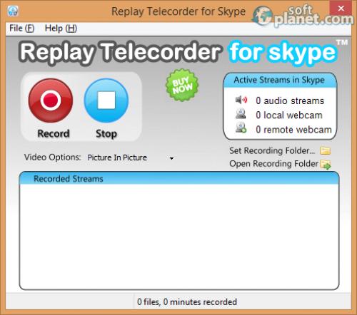 Replay Telecorder for Skype 1.3.0.23