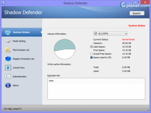 Shadow Defender 1.3.0.457