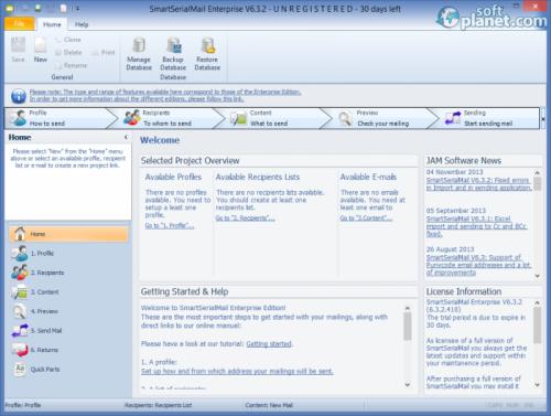 SmartSerialMail Enterprise 6.3.2