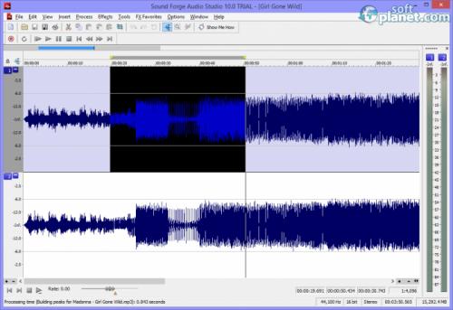 Sound Forge Audio Studio 10.0 (Build 252)