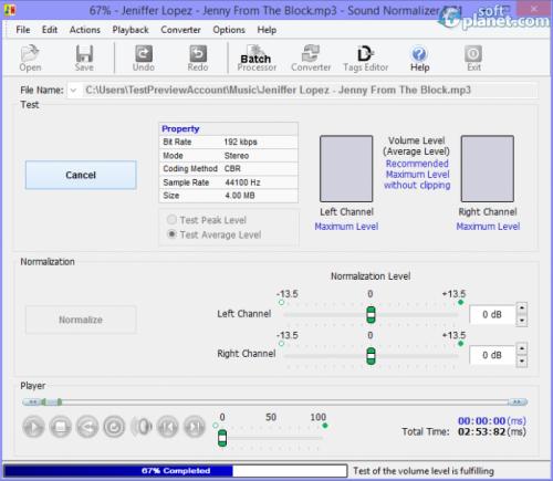 Sound Normalizer 6.21