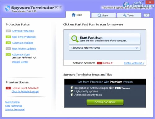 Spyware Terminator 2012 3.0.0.101