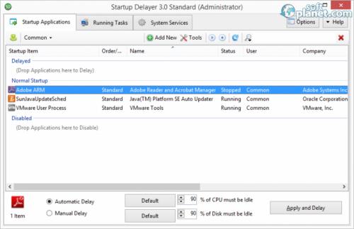 Startup Delayer 3.0 (build 363)