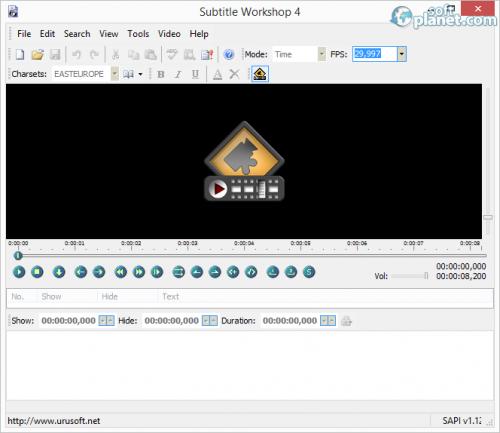 Subtitle Workshop 6.00