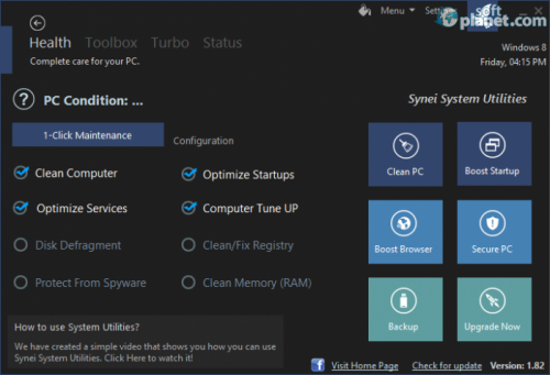 Synei System Utilities Portable 1.82